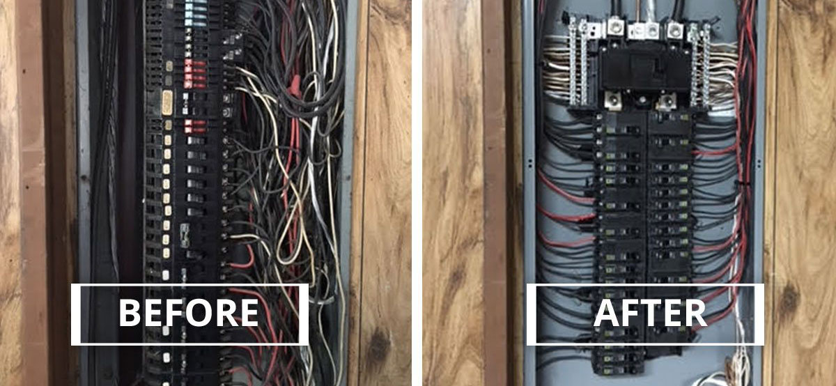 Sensational Panel Change And Upgrades American Electrical Contracting Wiring Cloud Hisonuggs Outletorg
